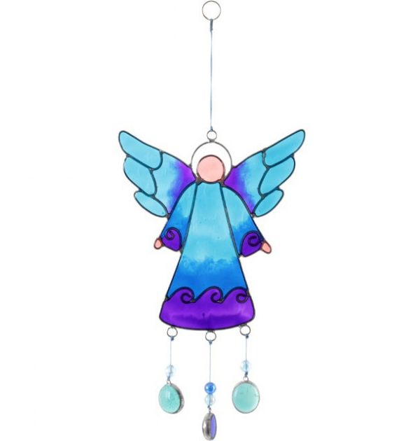 Blue Angel Sun Catcher